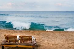 курорт maui пляжа Стоковое Изображение RF