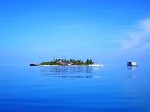 курорт mirihi острова стоковые изображения rf