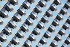 курорт pattaya гостиницы балкона Стоковая Фотография RF