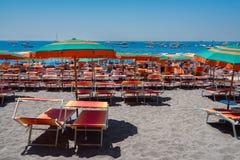 Курорт Positano, Италия Стоковые Фотографии RF