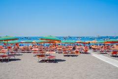 Курорт Positano, Италия Стоковое Изображение RF