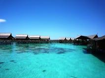 курорт sabah Малайзии kapalai стоковое фото