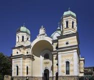 курорт sts метки makarska Хорватии церков E bulbed стоковое изображение rf