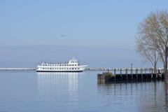 Курсирующ гавань Стоковое Фото