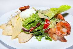 Курсы закусок, салатов, первого и второго, суп стоковые фото