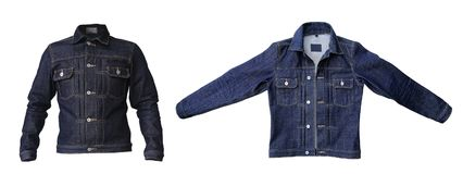 Куртка джинсовой ткани джинсов стоковое фото