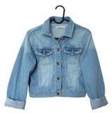 Куртка джинсовой ткани Стоковые Фотографии RF