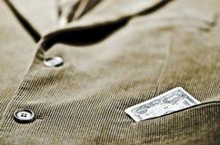 Куртка корд Стоковая Фотография