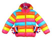 Куртка красочных детей Стоковая Фотография RF