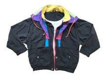 Куртка спорт Windbreaker, свитер, носка спорта Стоковое Фото