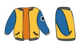 куртка иллюстрация вектора