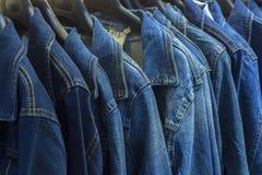Куртки джинсов стоковое изображение