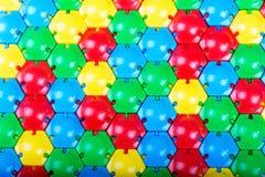 Курчавая пестротканая мозаика или головоломка Стоковое Изображение RF