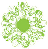 курчавая трава круглая Стоковые Фото