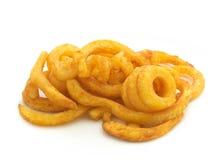 Курчавые Fries Стоковая Фотография