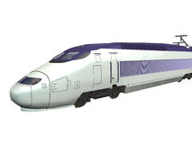 курьерский поезд Стоковое фото RF
