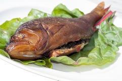 Курят рыбы Стоковая Фотография