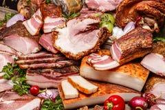 курят свинина мяса, котор Стоковые Изображения RF