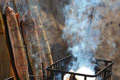 курят семги, котор стоковое изображение