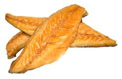 курят скумбрия рыб, котор Стоковая Фотография RF