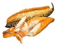 курят скумбрия рыб, котор Стоковое Фото