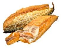 курят скумбрия рыб, котор Стоковые Изображения
