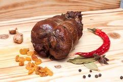 Курят цыпленок Стоковая Фотография RF