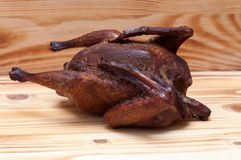 Курят цыпленок Стоковые Изображения
