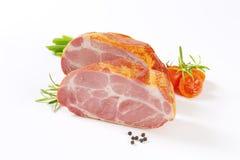 Курят шея свинины Стоковое Фото