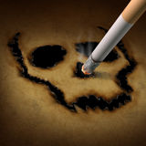 Куря опасность иллюстрация вектора