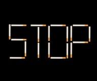 куря стоп Стоковая Фотография RF