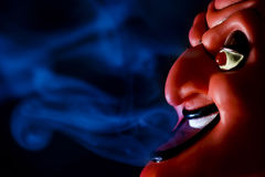 Куря дьявол Стоковые Фотографии RF