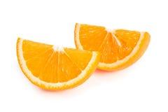 2 куска апельсина Стоковое фото RF