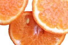 3 куска апельсина Стоковое Фото