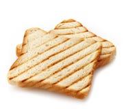 2 куска провозглашанного тост хлеба Стоковые Фотографии RF