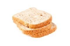 3 куска свежего хлеба Стоковые Фотографии RF