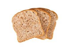 3 куска свежих хлеба Стоковые Фотографии RF