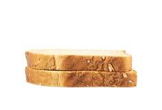 2 куска хлеба здравицы Стоковое Фото