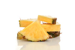 Куски ананаса Стоковые Фотографии RF