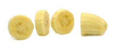 Куски банана Стоковые Изображения