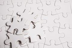 Куски головоломки Стоковое Фото
