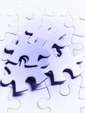 Куски головоломки Стоковое фото RF