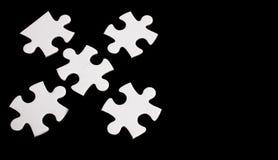 Куски головоломки Стоковые Фото