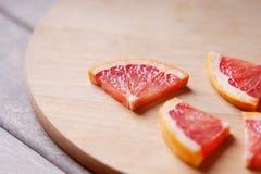 Куски грейпфрута Стоковое фото RF