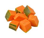 Куски зеленой тыквы Стоковое Изображение