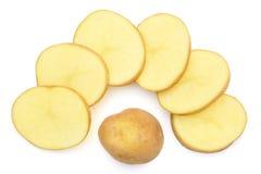 Куски картошки Стоковые Изображения