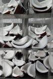 Куски кокосов Стоковая Фотография