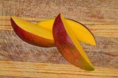Куски манго Стоковые Фото