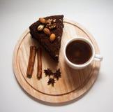 Куски пирожного Стоковое Фото