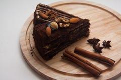 Куски пирожного Стоковая Фотография